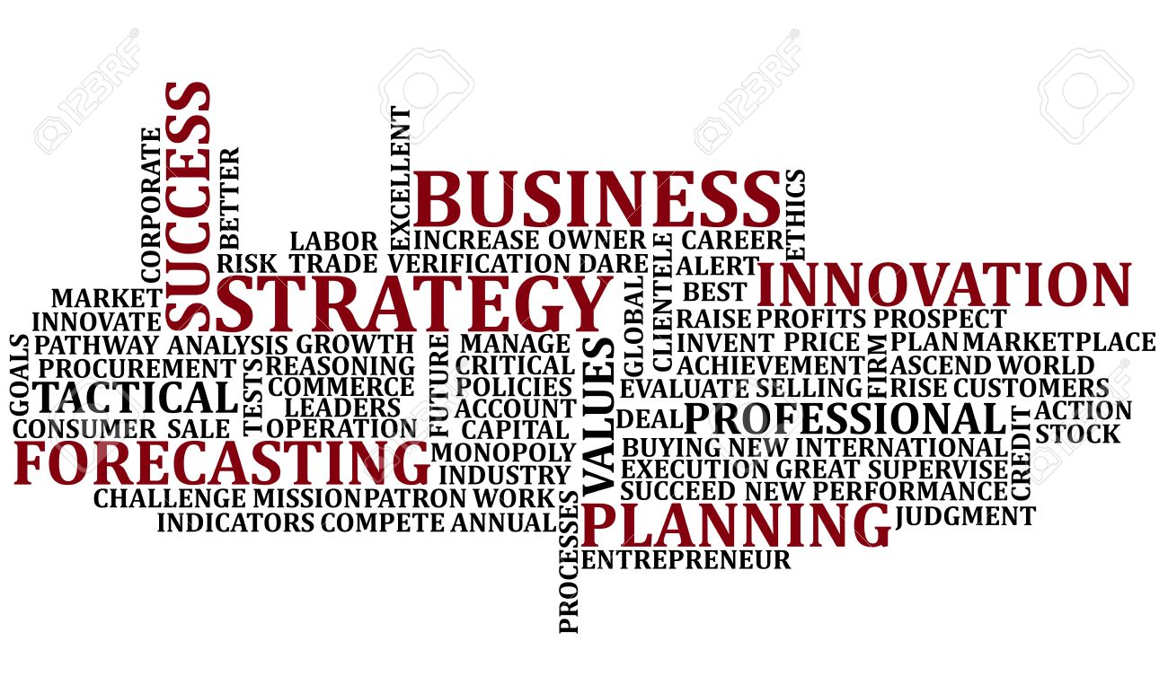 Business Words Collage Stock Photo - 10423406