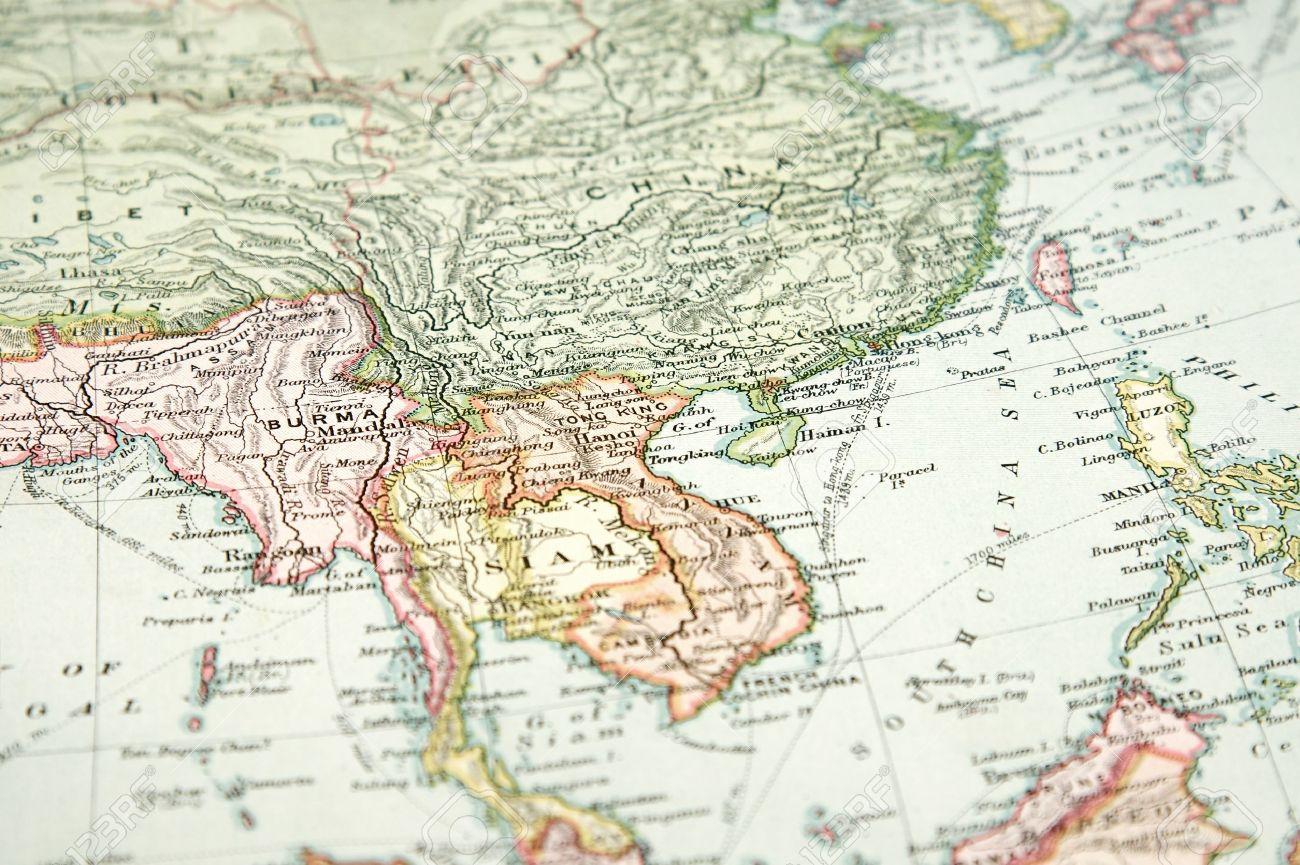 Carte But Expire.Vintage 1907 Copyright Expire La Carte De L Europe Et L Asie