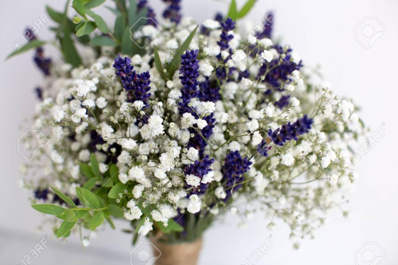 Baby S Breath Lavender Bouquet Off 75 Buy
