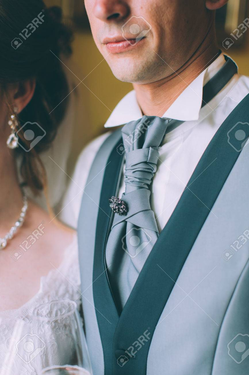 Navy Blue Suit For Men, A Wedding Or Prom, Vest, Shirt, Tie Plastron ...