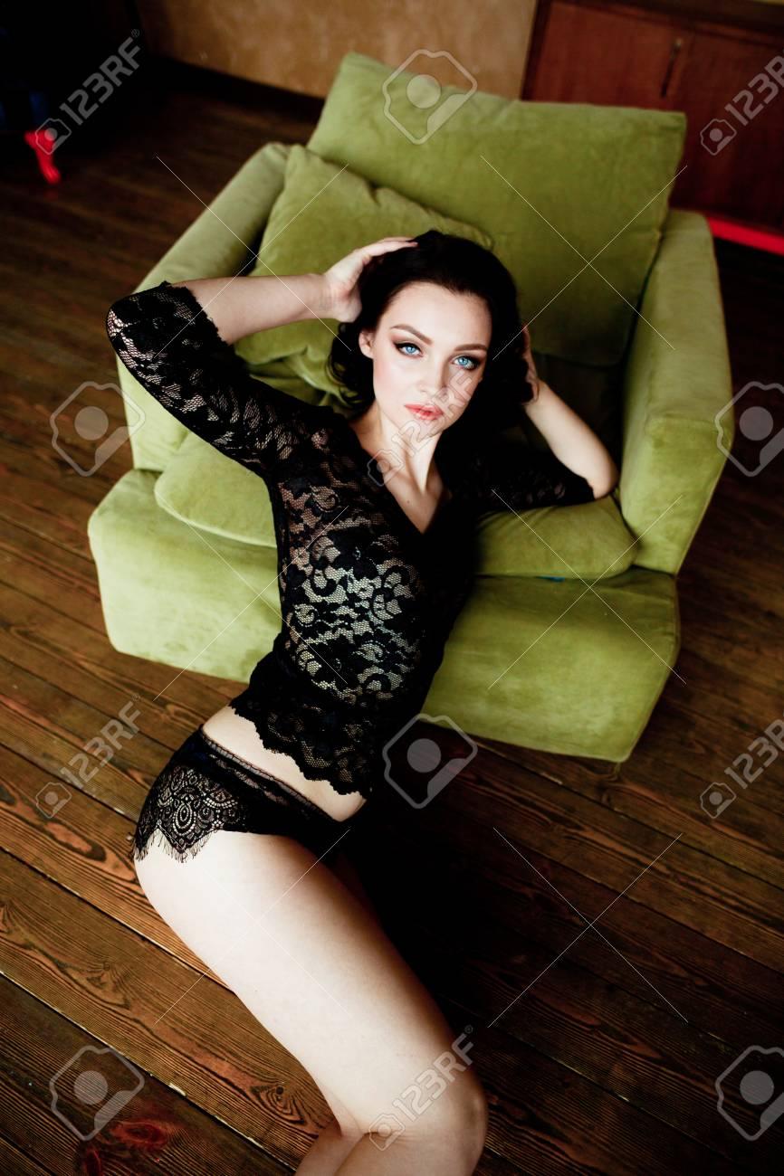 Lingerie int he boudoir