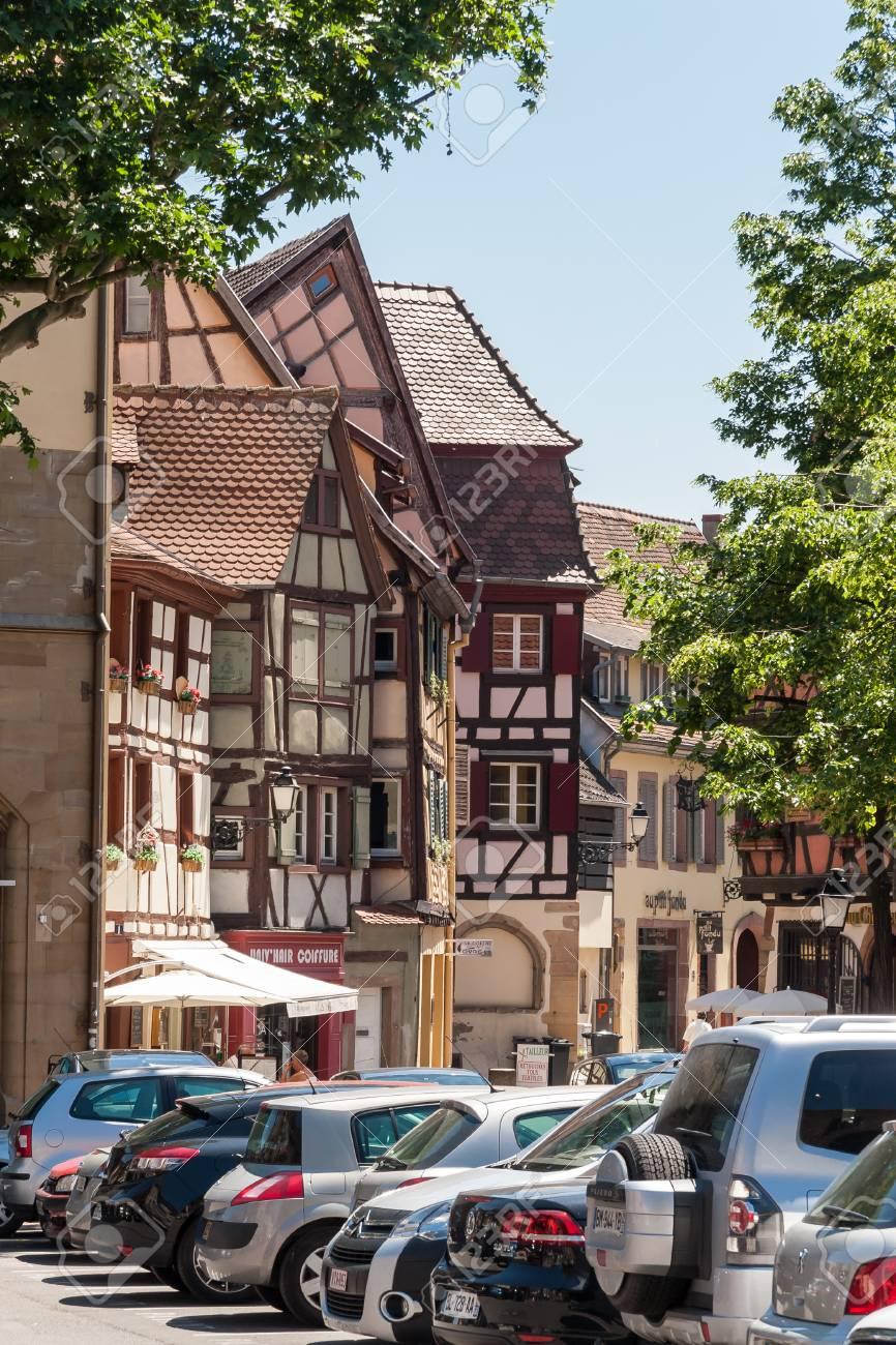 Colmar Frankreich Am 26 Mai 2012 Die Alte Stadt Von Colmar Mit