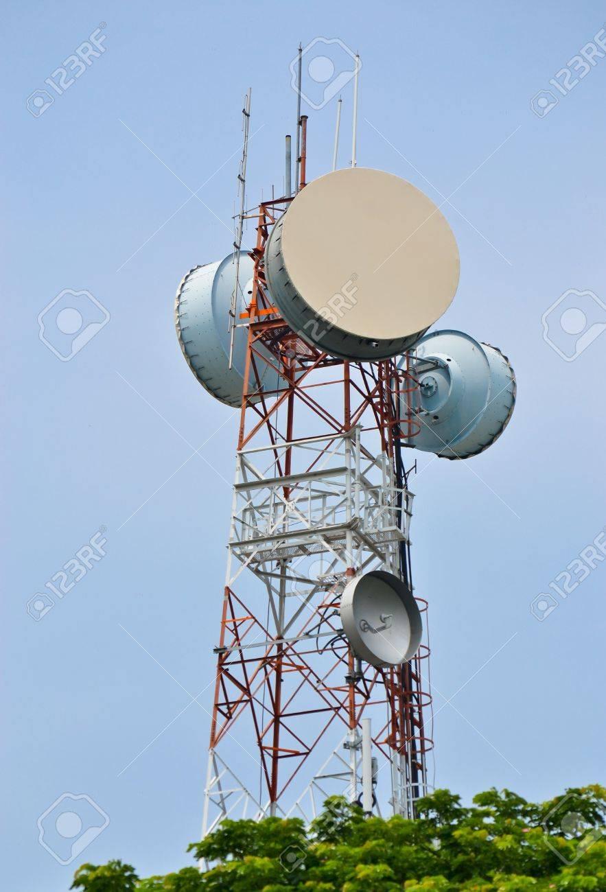 Antenna Tower of Communication Stock Photo - 14783675