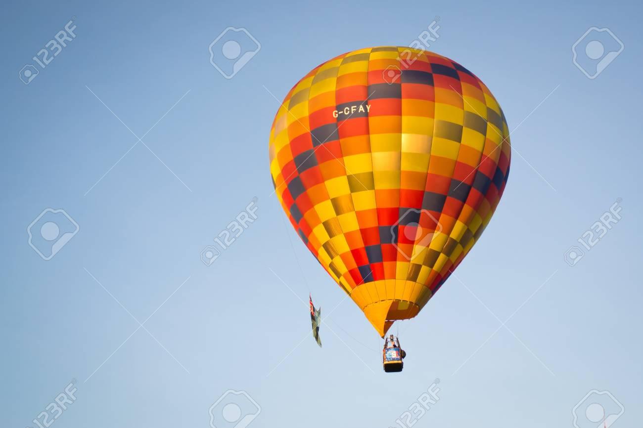 Thailand International Balloon Festival 23 -25 November 2012 at chiangmai Thailand Stock Photo - 16653232