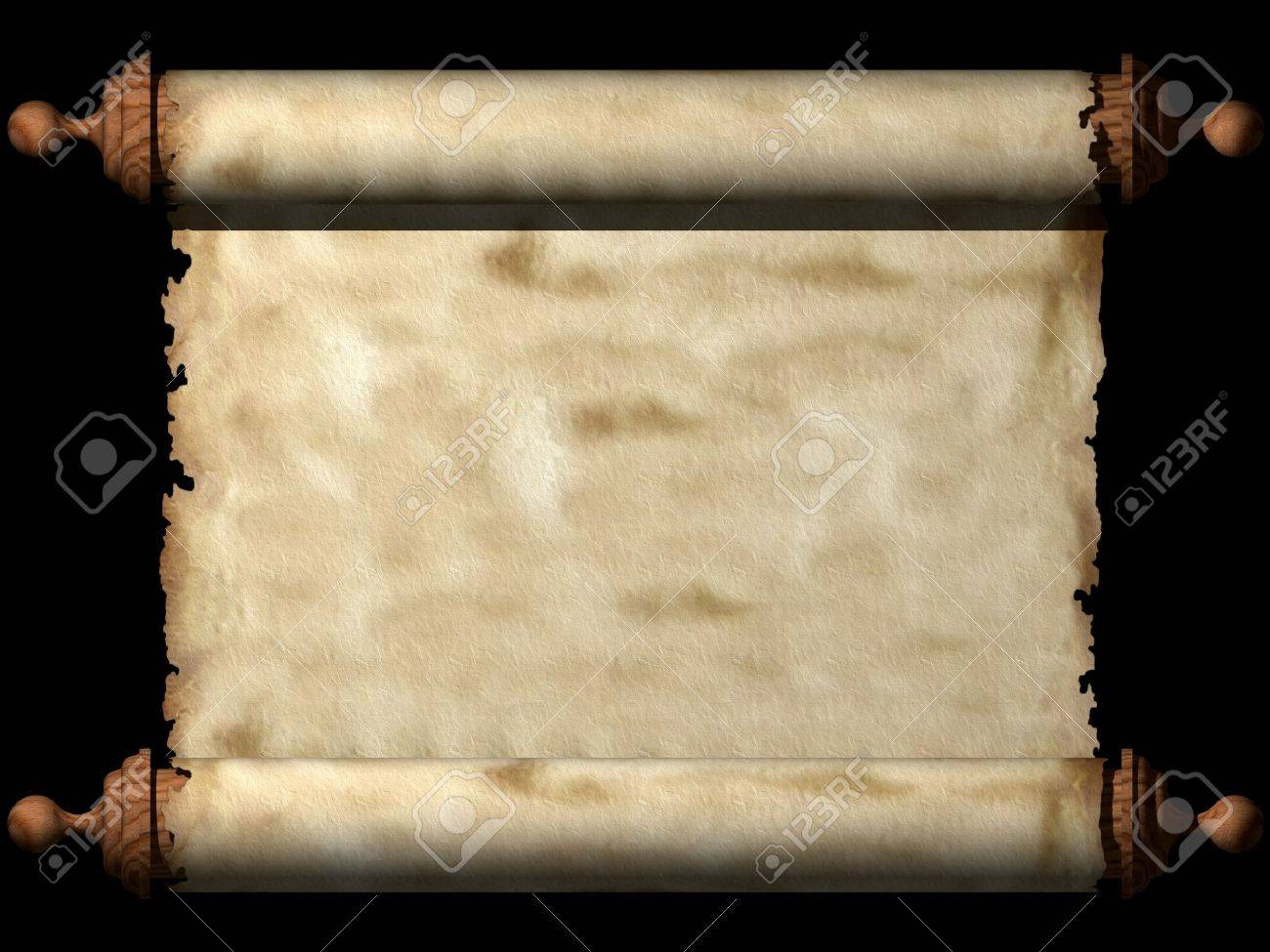 Ancient scroll Stock Photo - 7789791