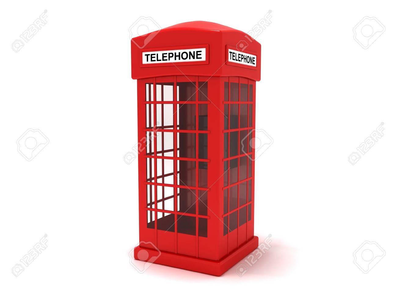 Telephone booth Stock Photo - 13343767