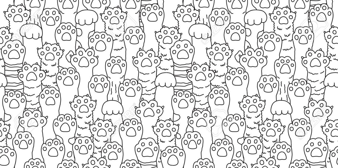 Cat Doodle Wallpaper
