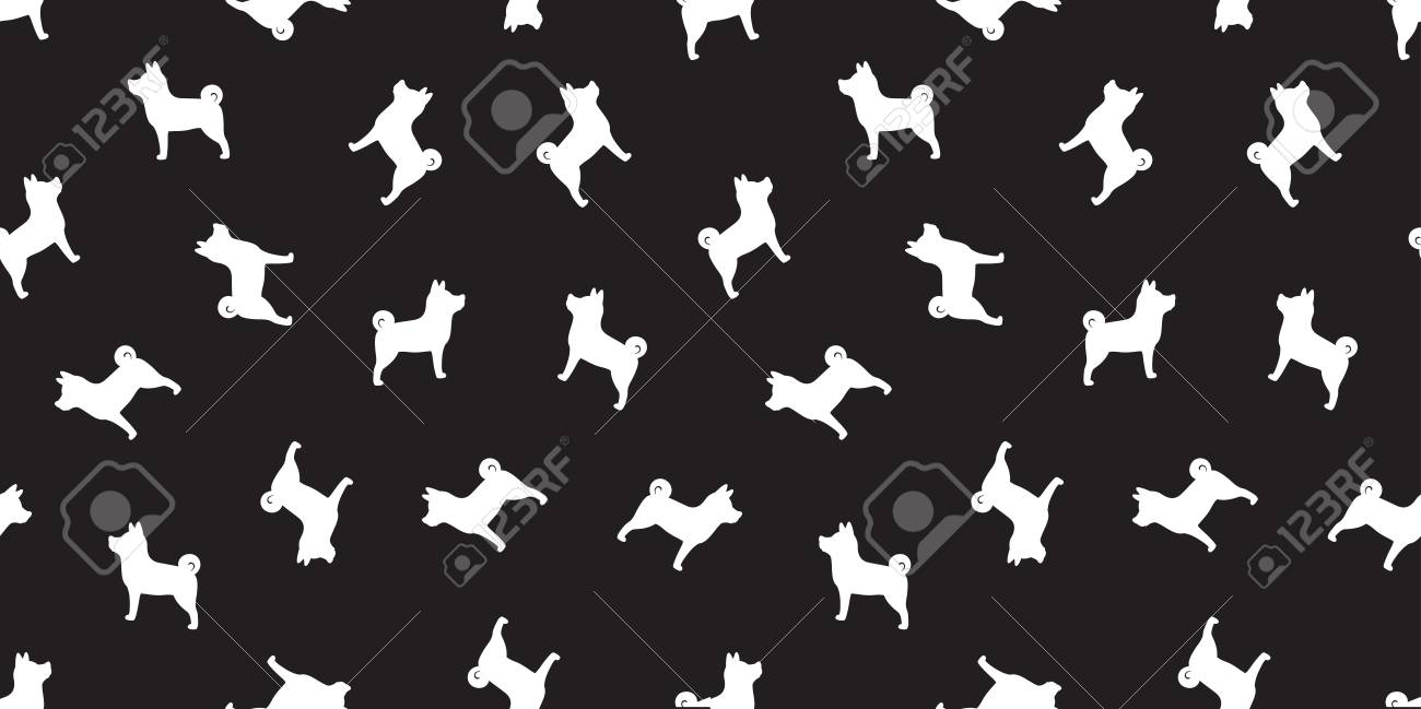 Dog Seamless Pattern French Bulldog Vector Pug Dog Breed Isolated Royalty Free Cliparts Vectors And Stock Illustration Image 109629165