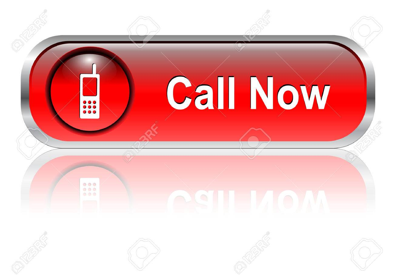 Contact us, call telephone icon, button, red glossy with shadow Stock Vector - 6425733