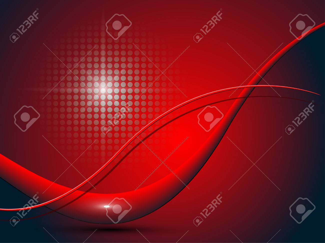 Background - abstract red lines - 8078051