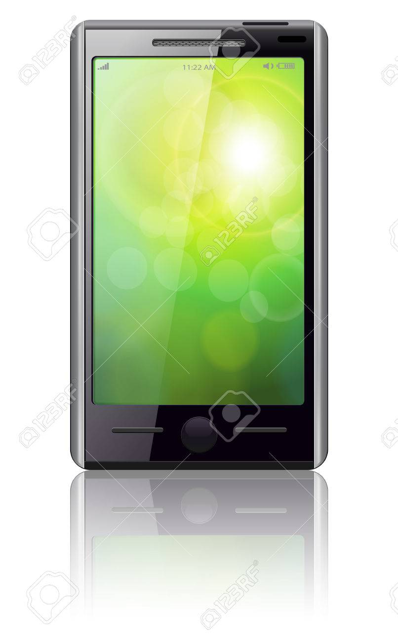 Mobile phone Stock Vector - 8120916