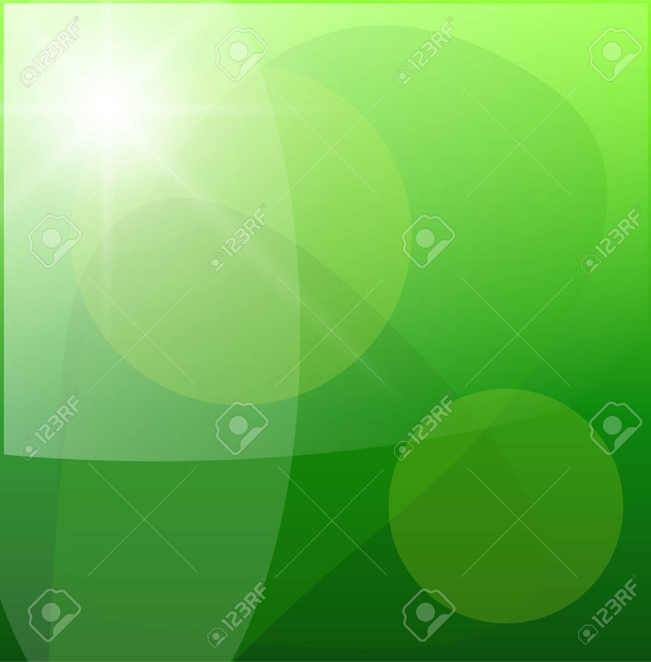 Beautiful green abstract background,   illustration. Stock Vector - 8710460