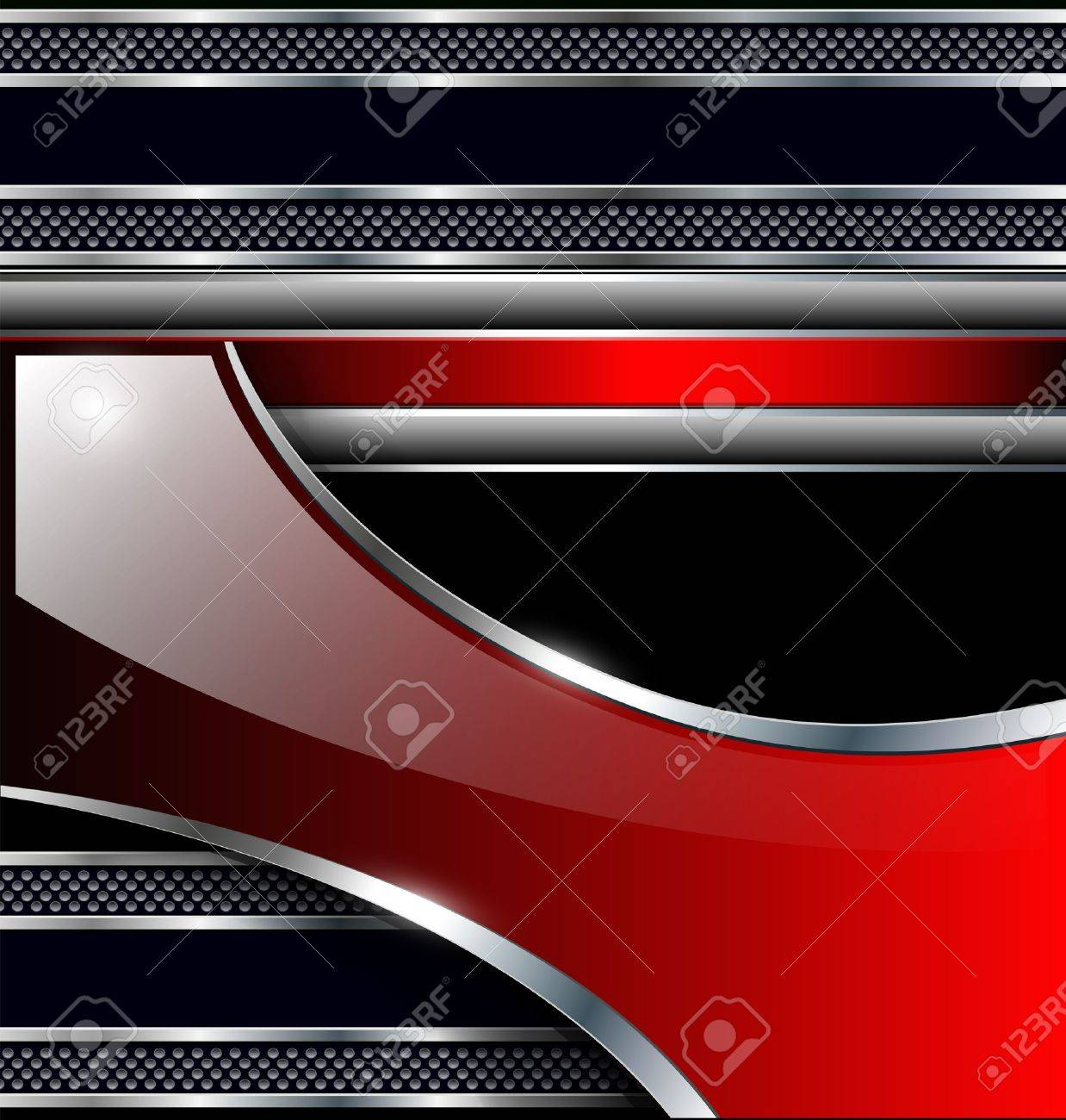 Abstract Background Red Black Abstract Background Black