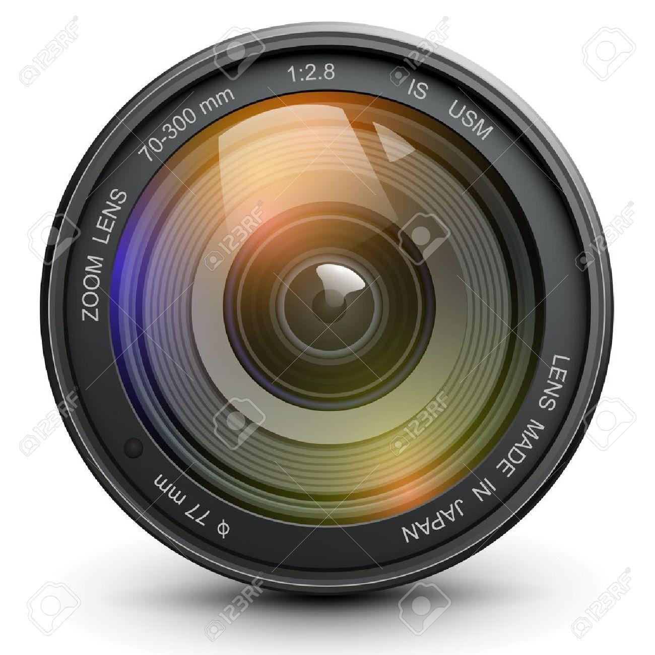 Camera Photo Lens, Vector. Royalty Free Cliparts, Vectors, And ...