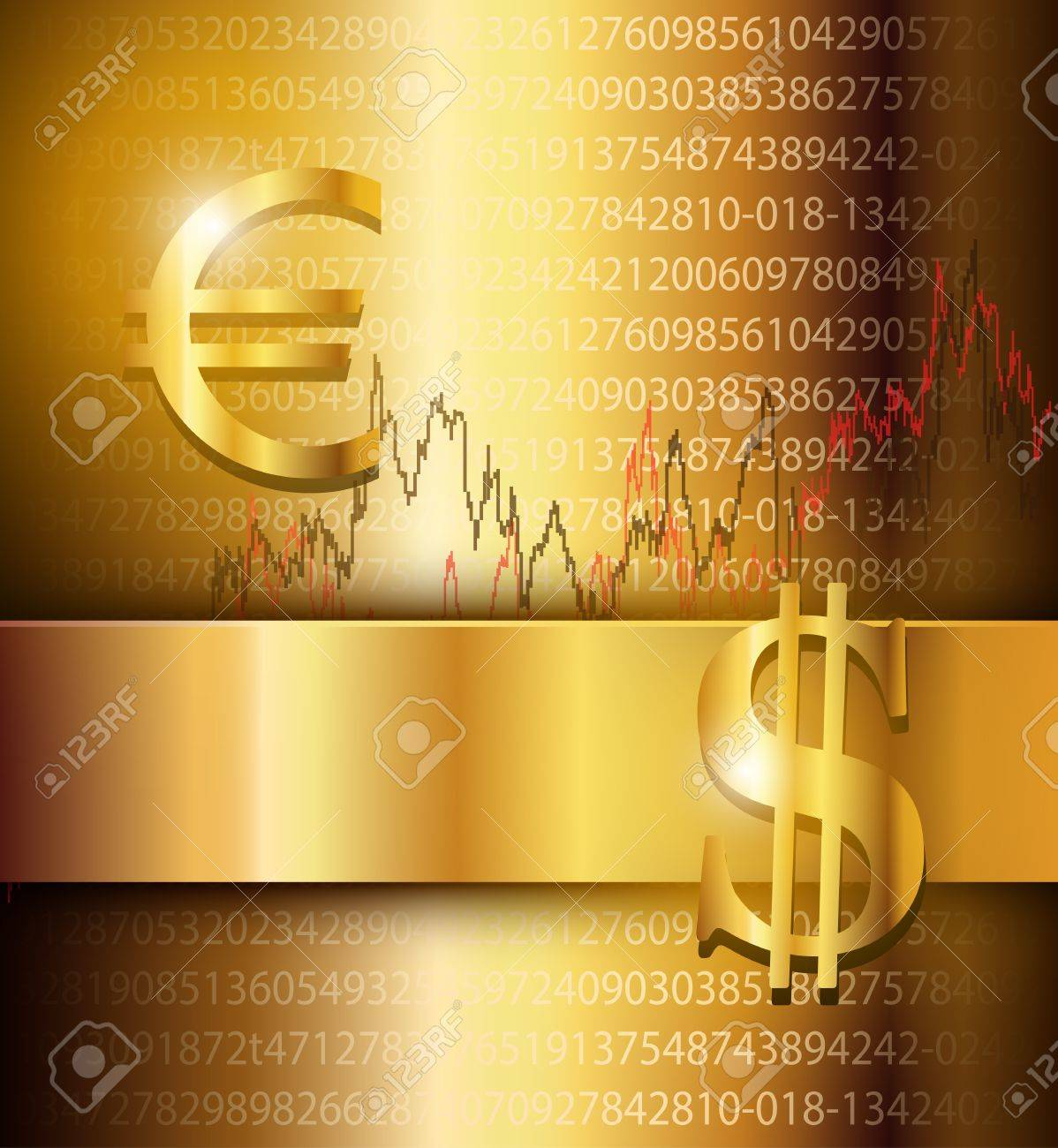 Business background elegant gold Stock Vector - 17226342