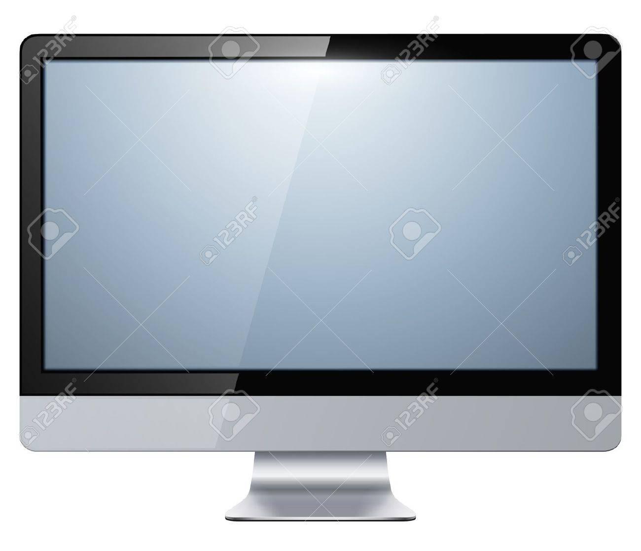 液晶テレビ モニター分離、ベクトル イラスト。 ロイヤリティフリー