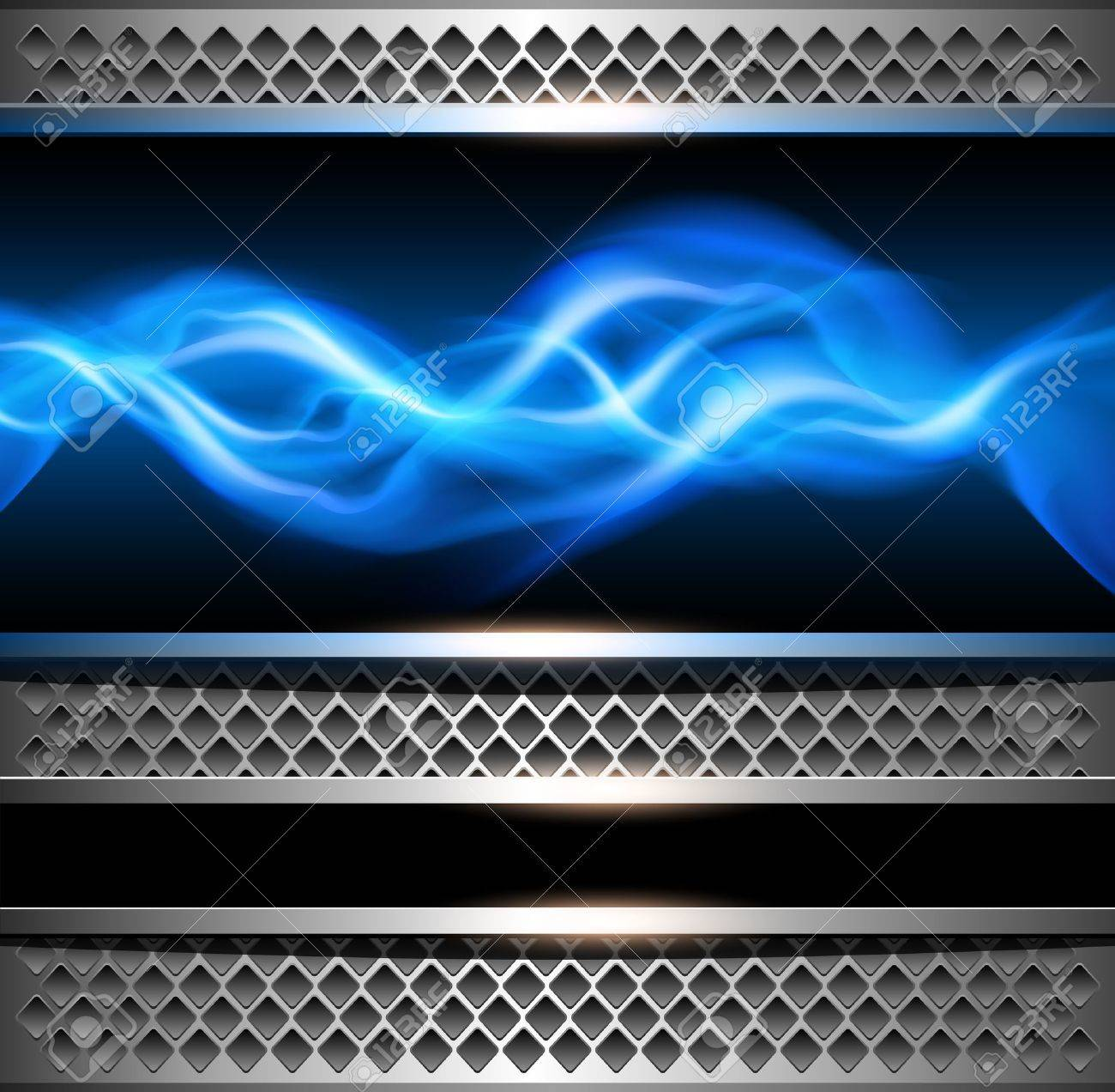 Abstract background, metallic with power concept. Stock Vector - 19375822