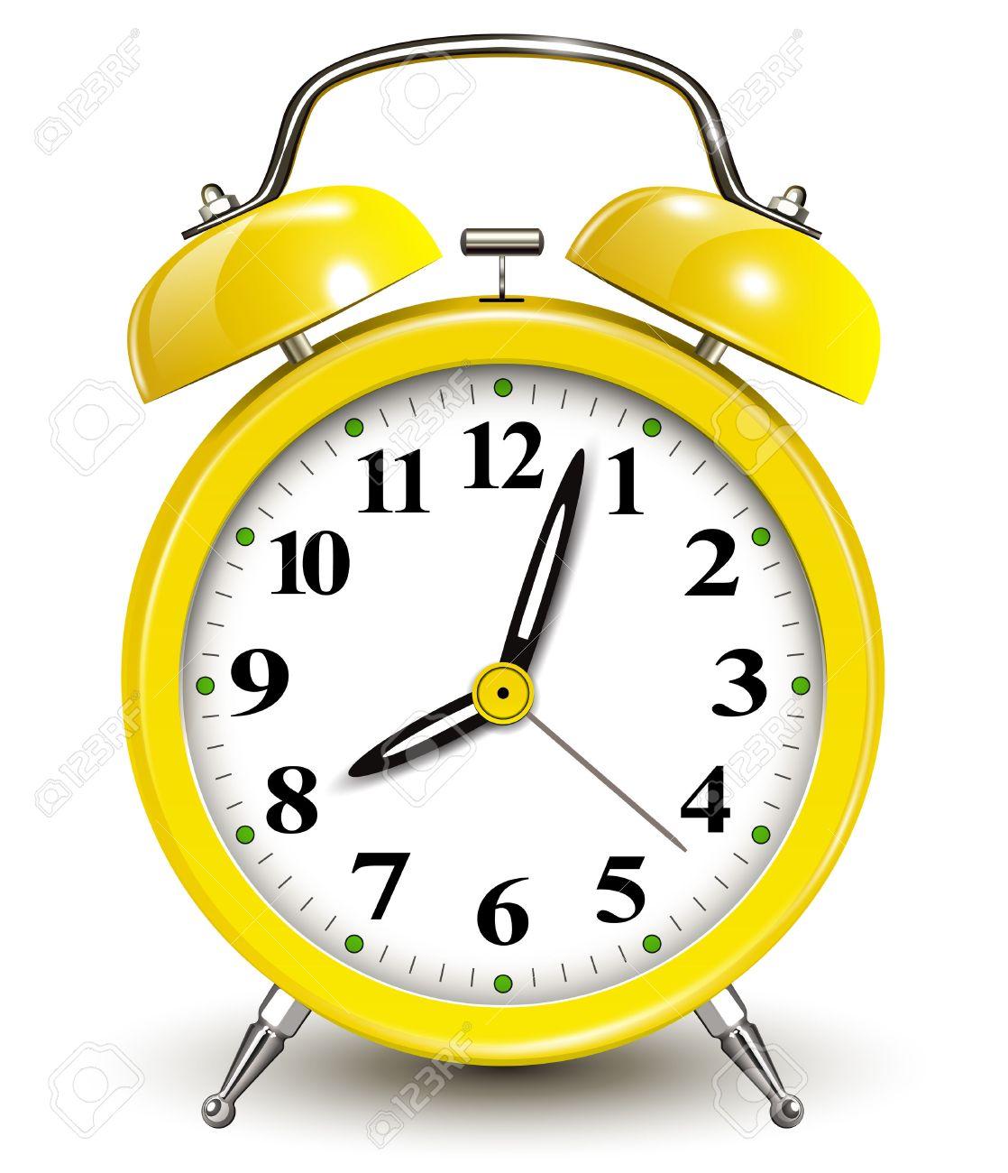 Alarm Clock Vector Illustration Stock Vector 24903926