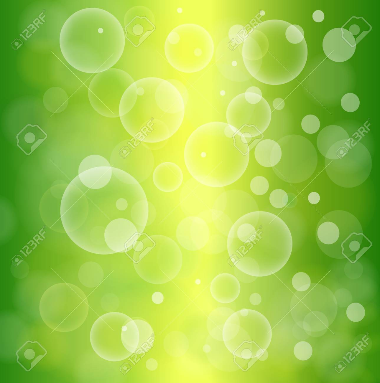 Green abstract background, vector illustration. Stock Vector - 25042330