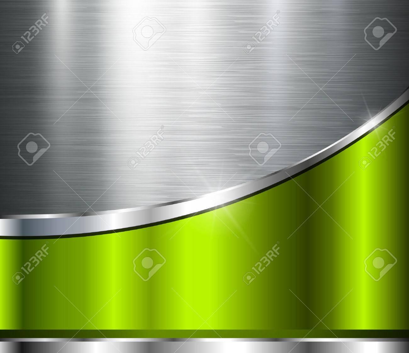 Fondo gris metalico fondo met lico de la textura de acero pulido dise o del vector