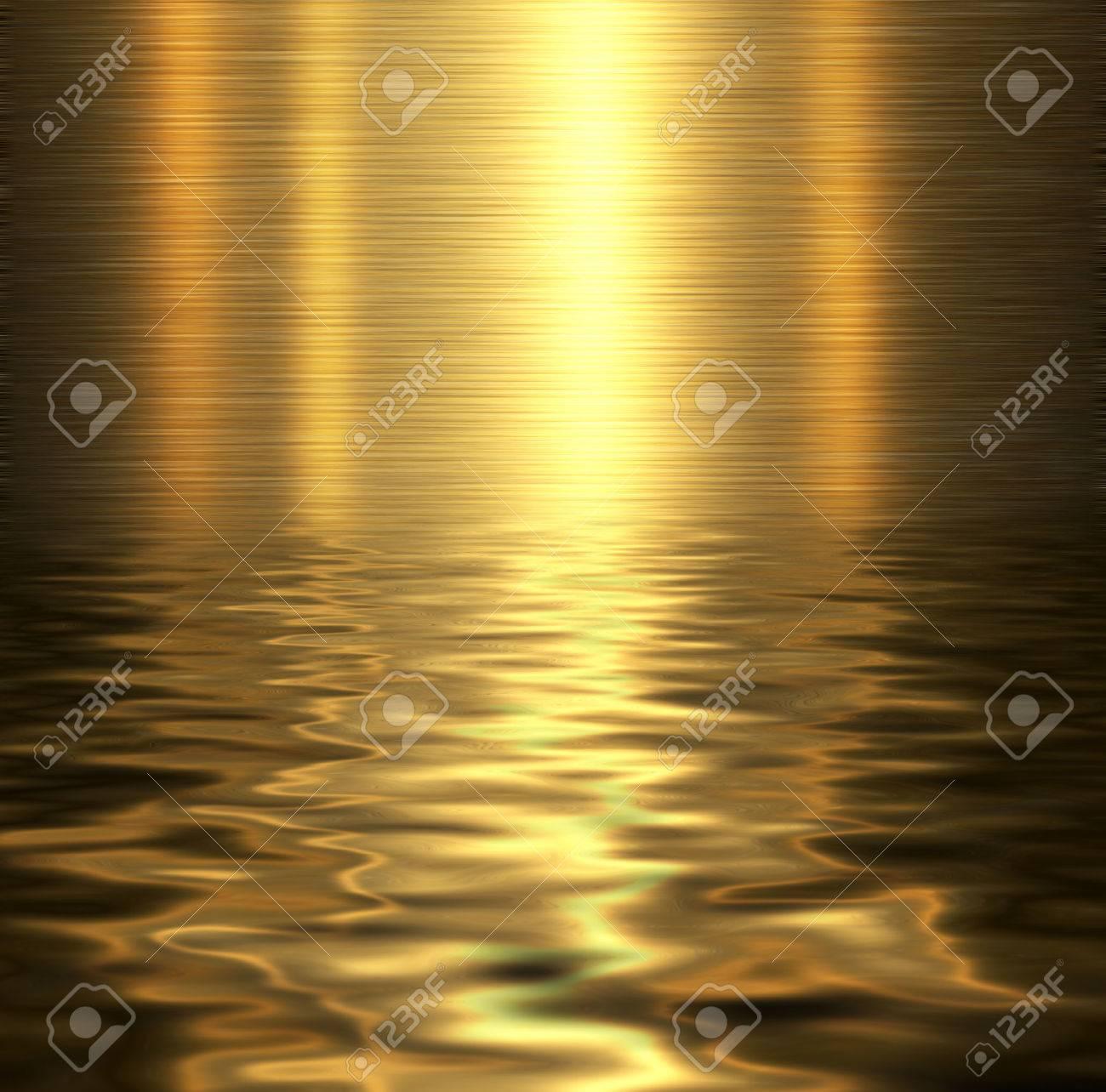 Liquid metal texture, metallic background. - 54925683