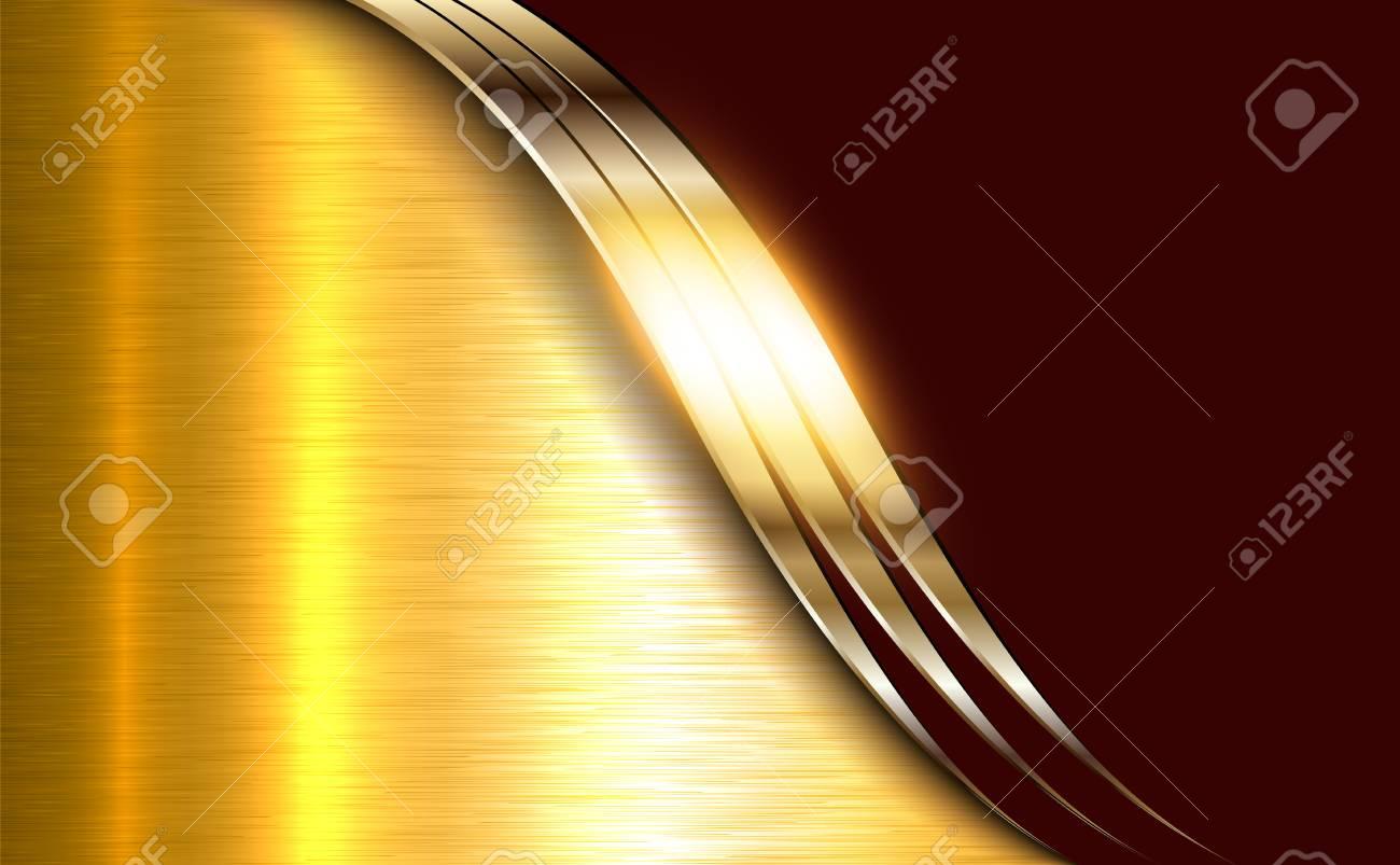 Fondo dorado metalico brillante