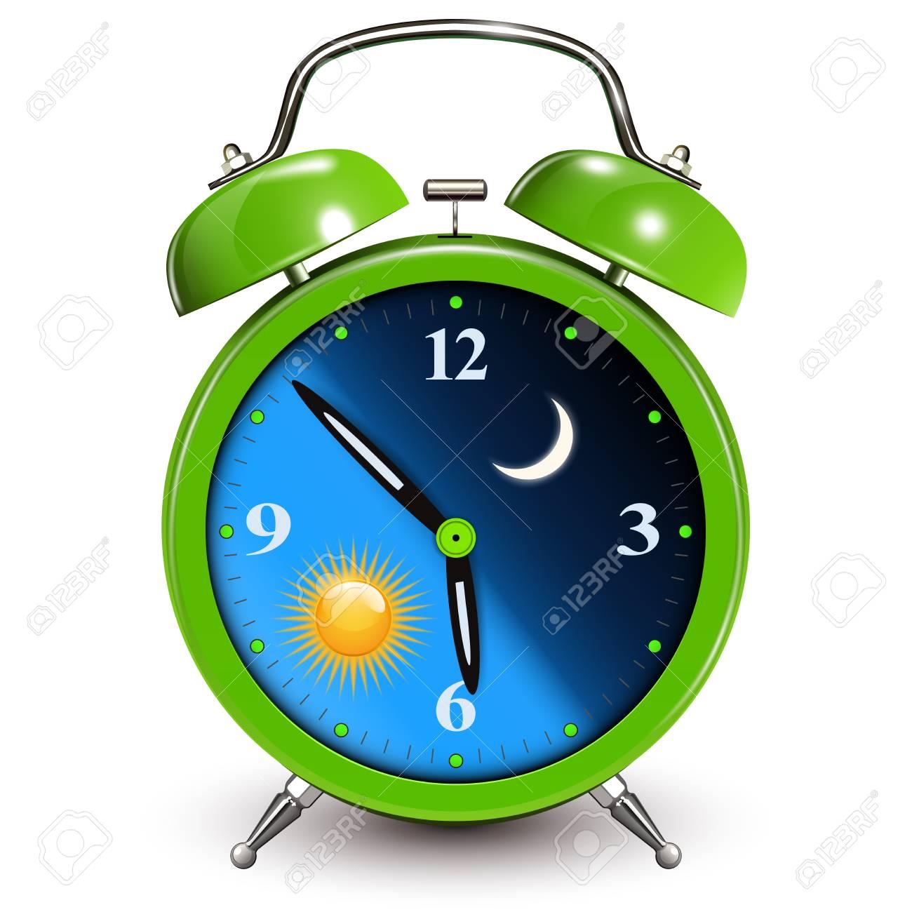 Reloj AlarmaDía NocheIlustración Vectorial De Concepto Y thQxdCrsB