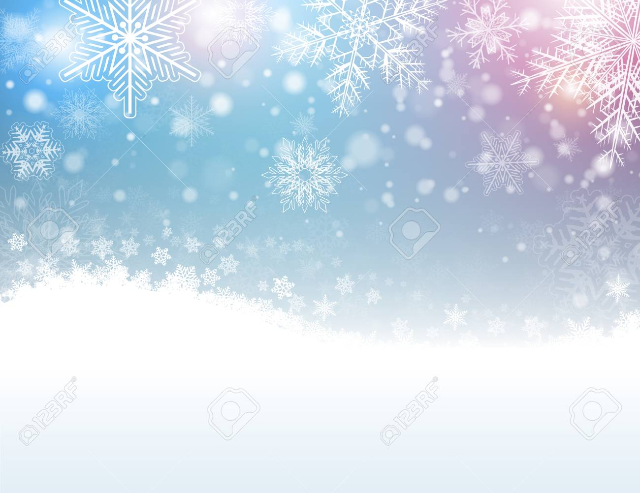 2019 year for women- Snowflakes Winter pictures