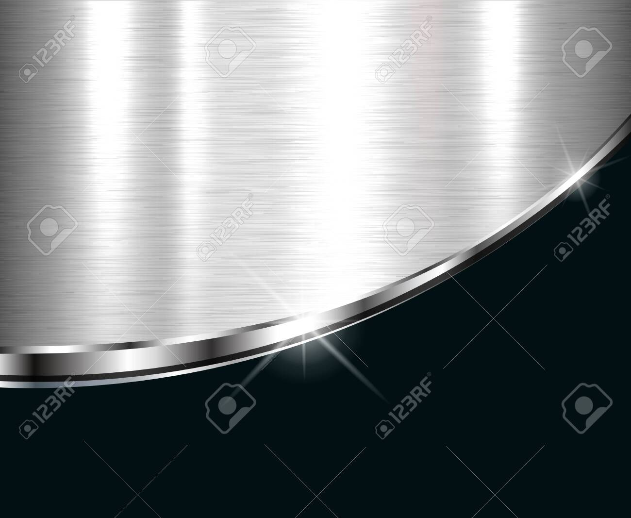 Elegant metallic background, vector design. - 140240950