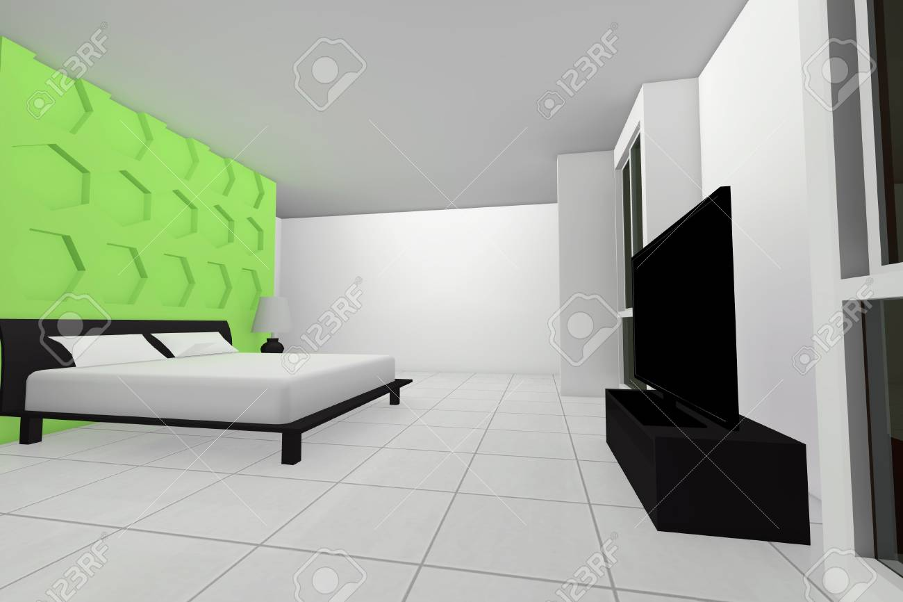 Bed room house Stock Photo - 20579985