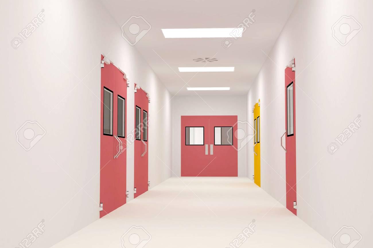 Clean Corridors Stock Photo - 25997870