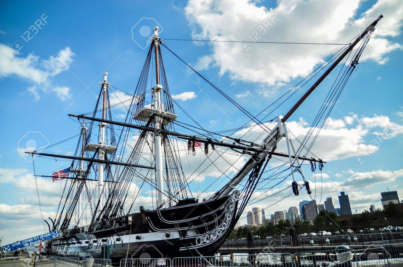 uss constitution battleship in boston stock photo picture and