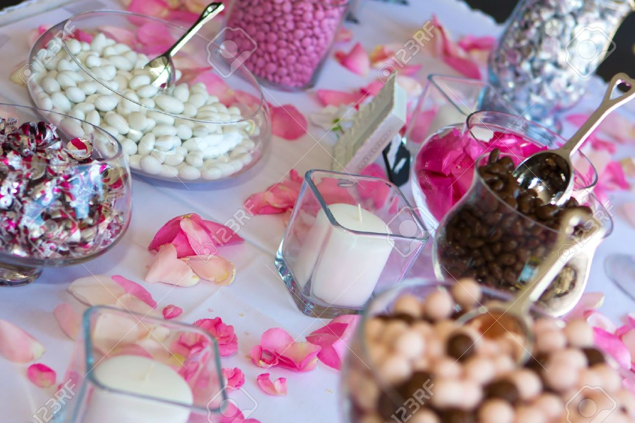 Astonishing Colorful Wedding Candy Table With All The Chocolate Goodies On Download Free Architecture Designs Embacsunscenecom
