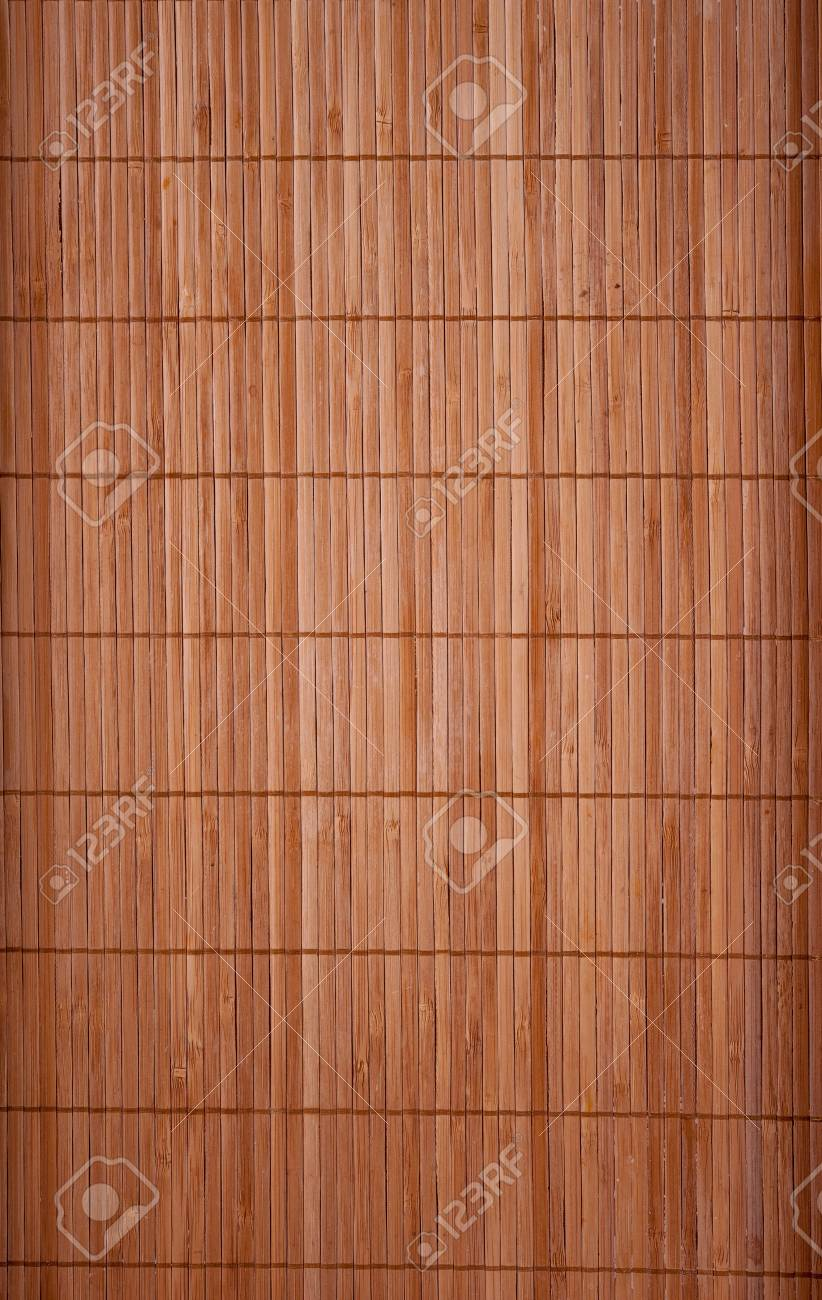Bamboo Schilfmatten Nahfaden Horizontal Lizenzfreie Fotos Bilder