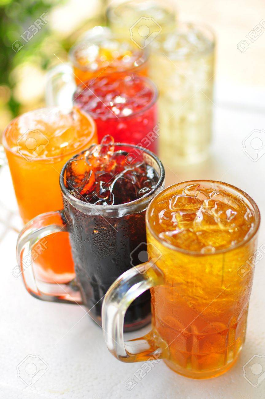 traditional thai drink,fruit and herbal cold drink Stock Photo - 14083586