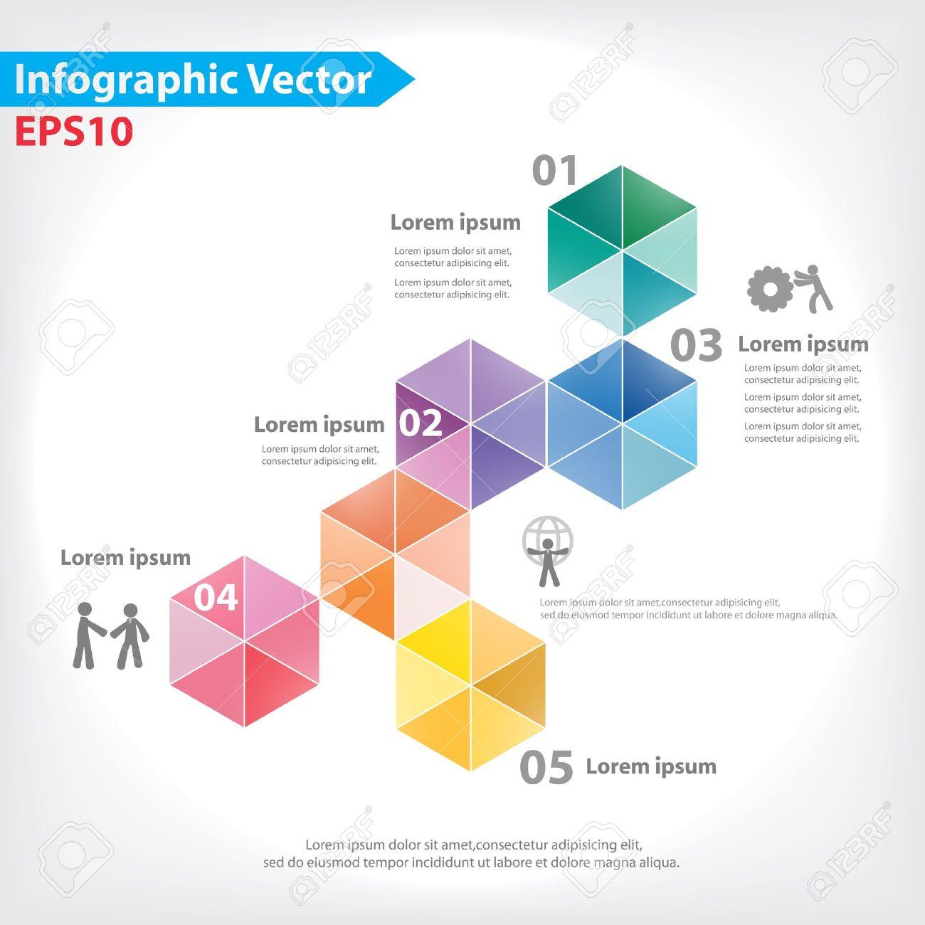 colorful vector design for workflow layout diagram number  : diagram design - findchart.co