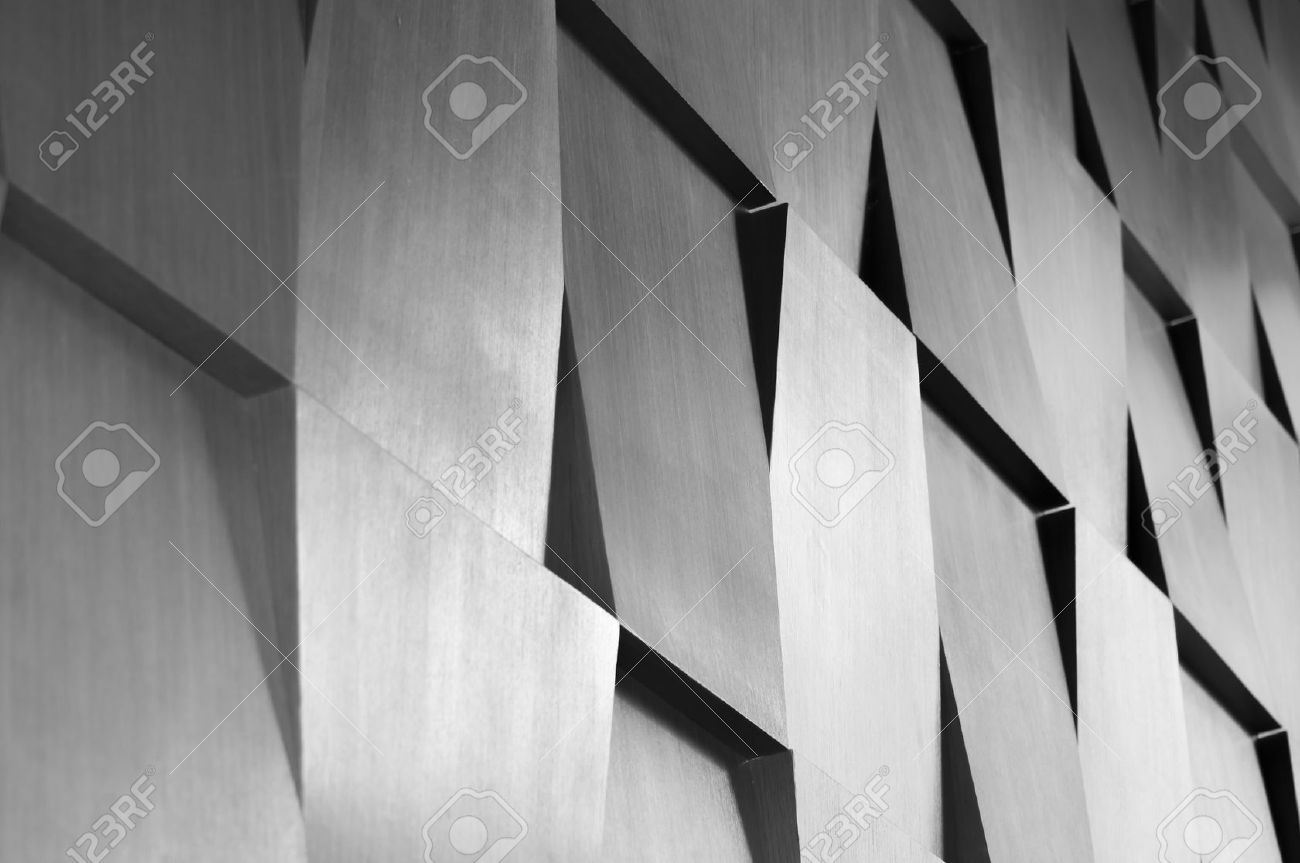 Wood wall geometry decoration background Stock Photo - 42137178