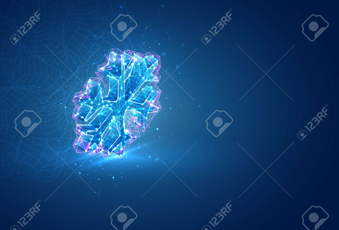 3d vector symbol, volumetric object on a blue background. layout for business and presentation - 167388447
