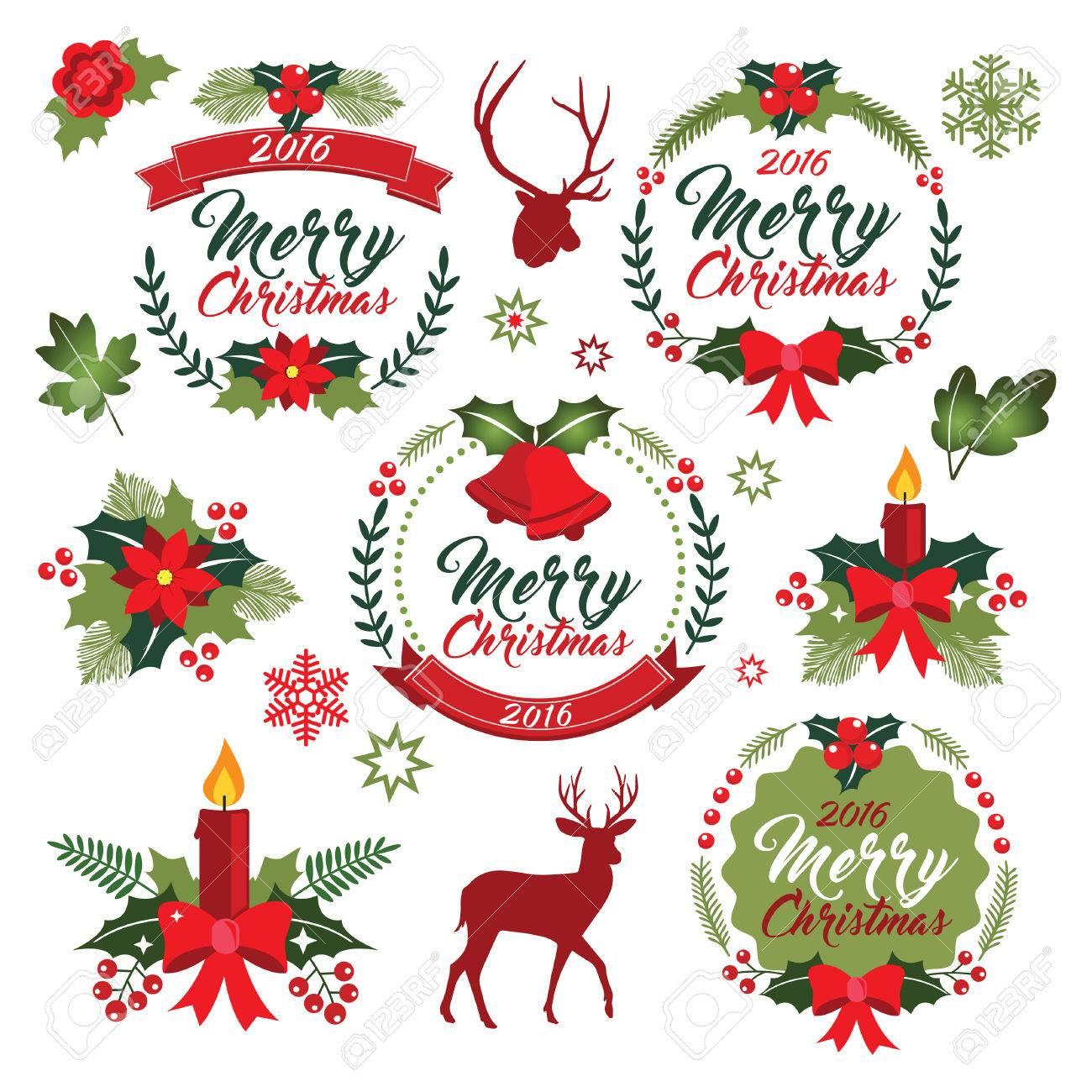 Christmas Wreath Clipart.Christmas Wreath Clipart Xmas Ornament Christmas Vectron Graphic