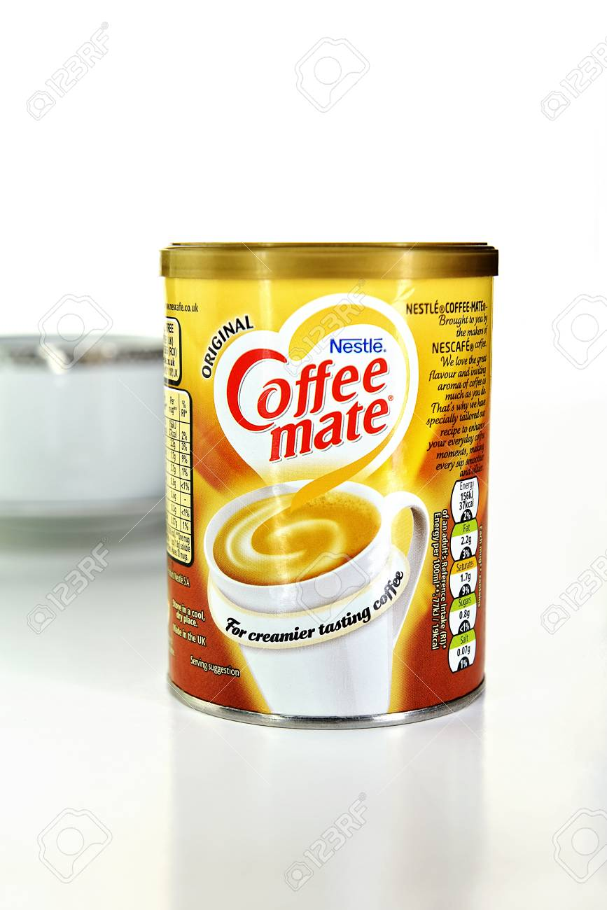 Nottingham Uk May 29 2018 Can Of Dry Coffee Mate Creamer