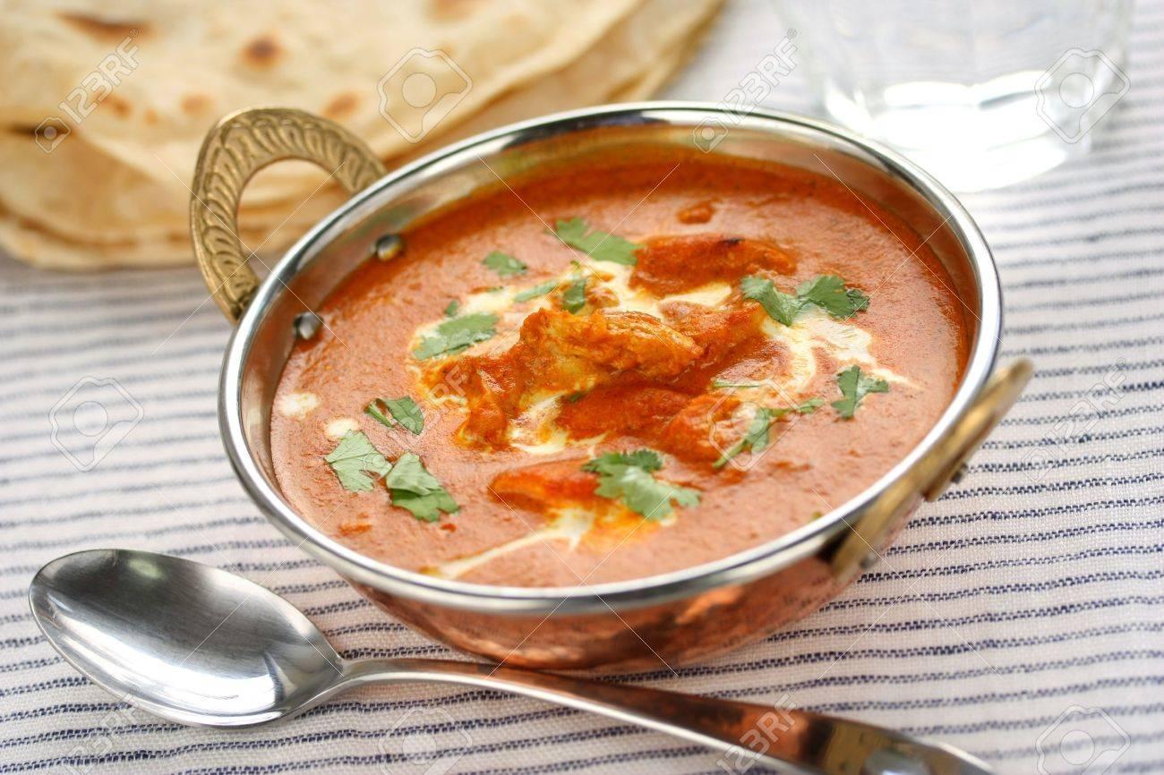 butter chicken , indian cuisine Stock Photo - 11121293