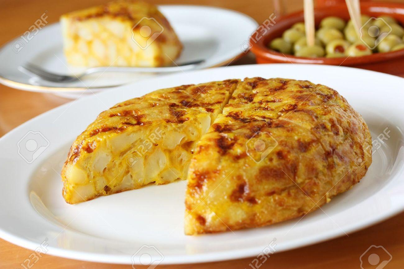 Tortilla, Spanisch Omelett, Spanisches Omelette, Spanische Küche ...
