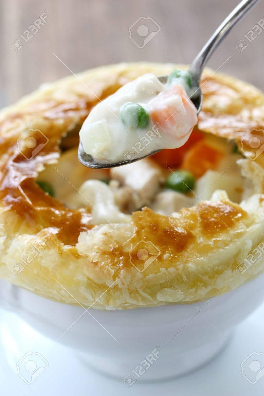 chicken pot pie Stock Photo - 13982538