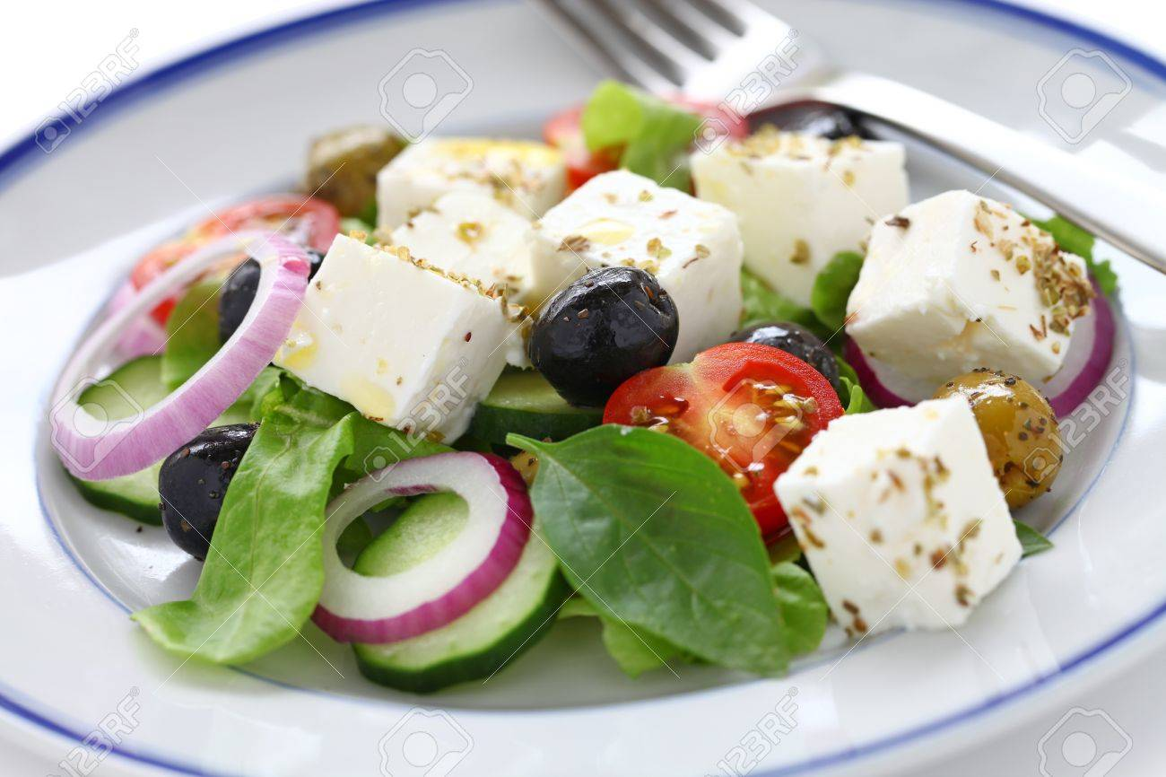 greek salad, greek cuisine Stock Photo - 15555016