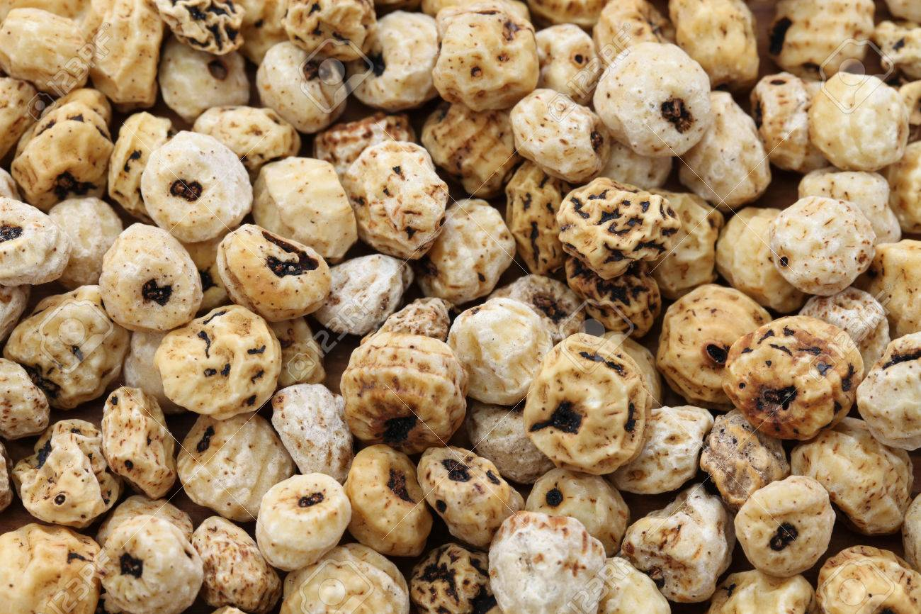 Tiger nuts, spanish chufa, superfoods Stock Photo - 52161011