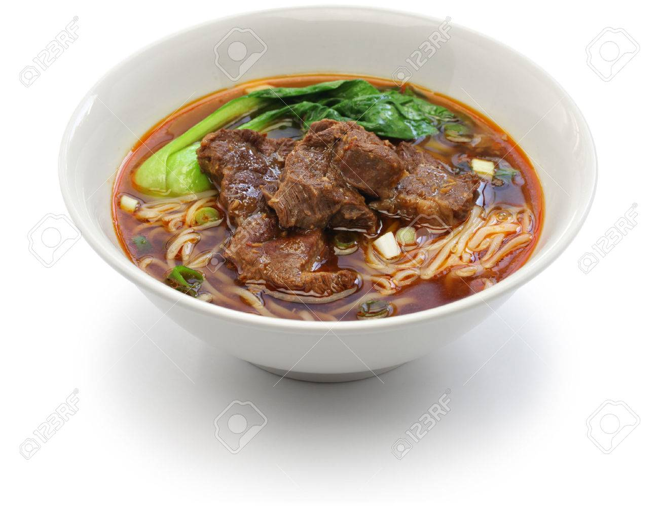 Taiwanese beef noodle soup Stock Photo - 57047448