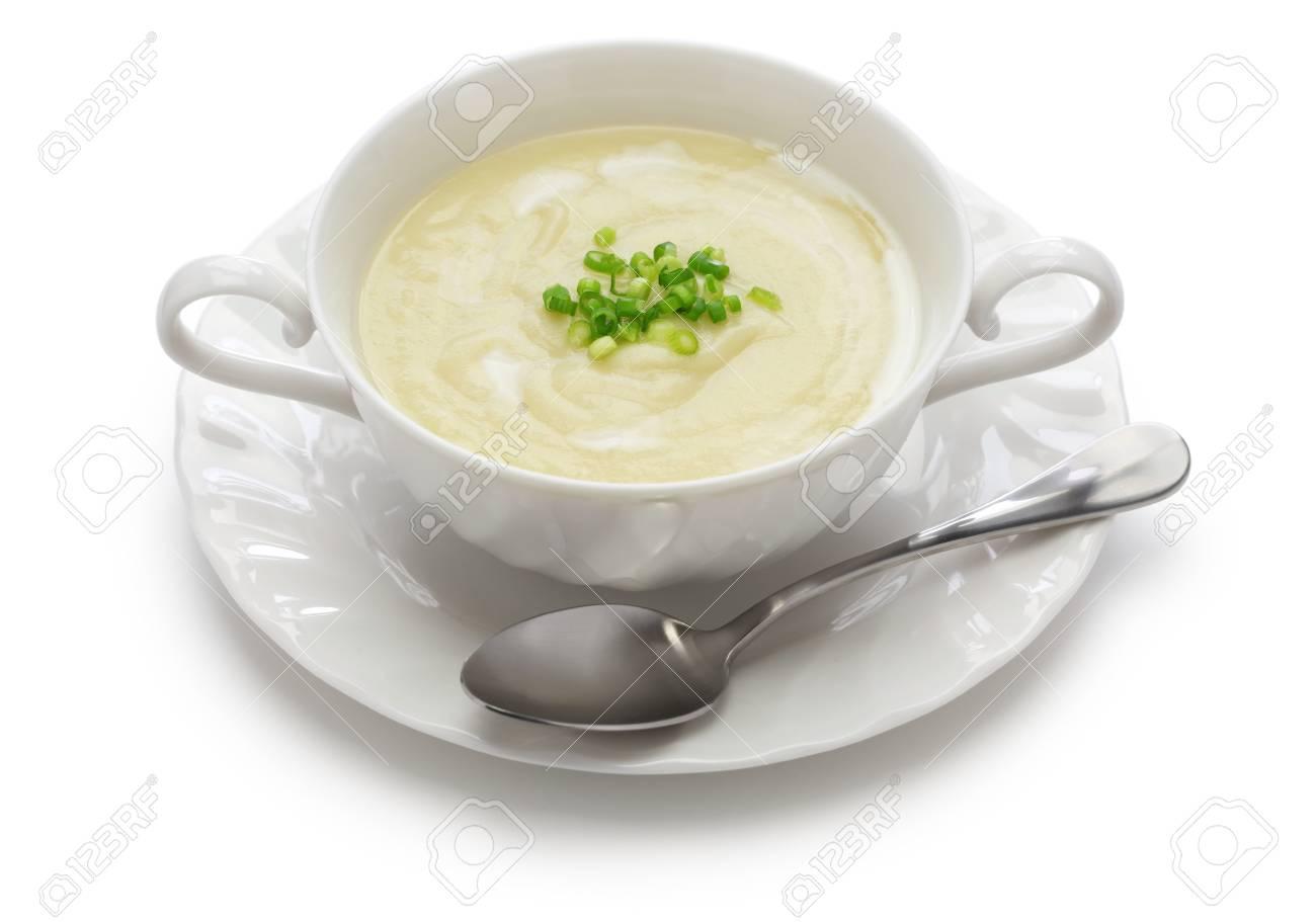 Kalte Sommerküche : Vichyssoise kalte kartoffelsuppe amerikanische sommerküche