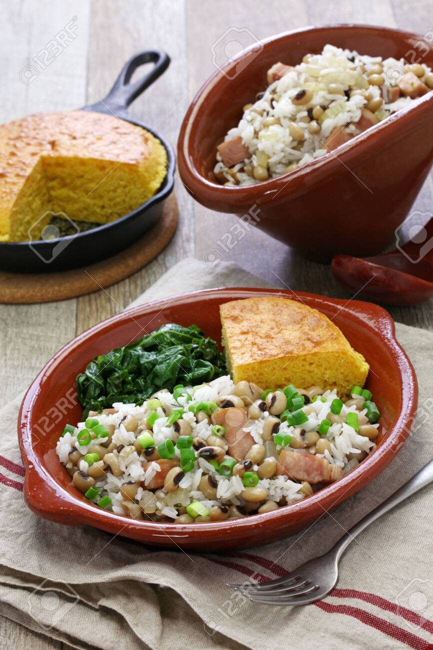 Hoppin John New Year Traditional Food Black Eyed Pea And Rice Stock Photo Picture And Royalty Free Image Image 150986185