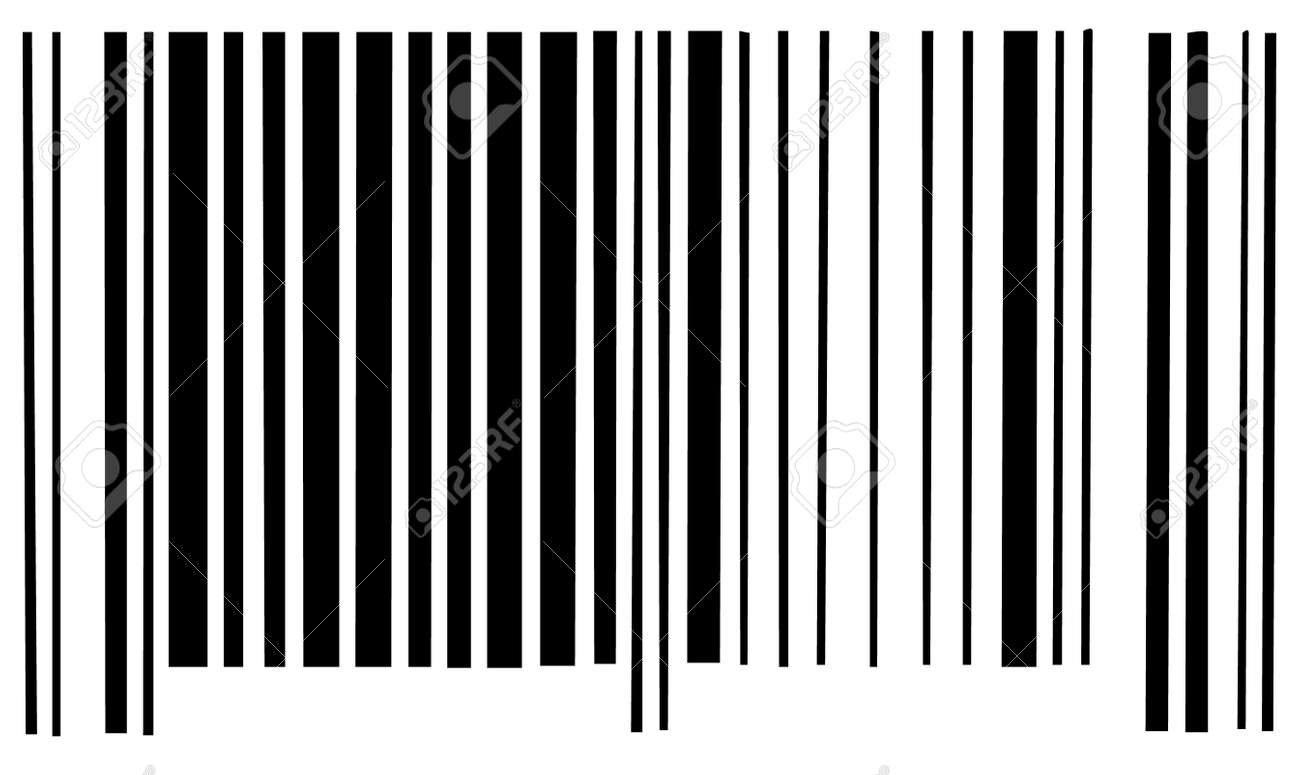 barcode scan barcode scan code on white background vector