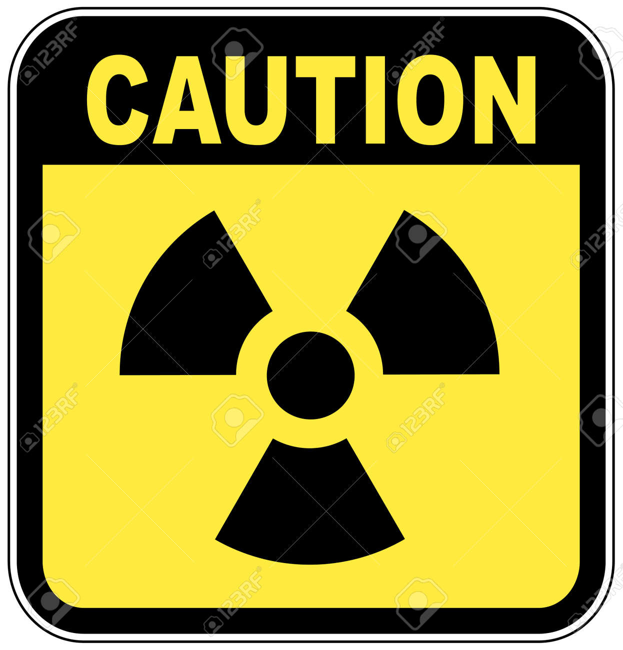 Radio active logo on yellow caution sign vector royalty free radio active logo on yellow caution sign vector stock vector 2854216 biocorpaavc Image collections